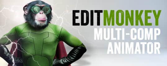 AE脚本:一键处理多图层运动 EditMonkey v1.0.0 + 使用教程