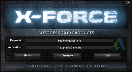 Autodesk 2019 全系列软件 XForce 注册机 + 软件密钥 Win/Mac