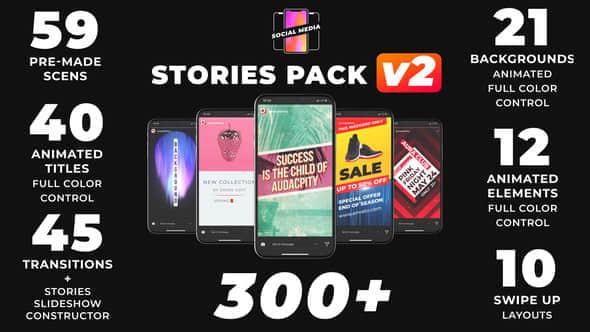 300Instagram Stories