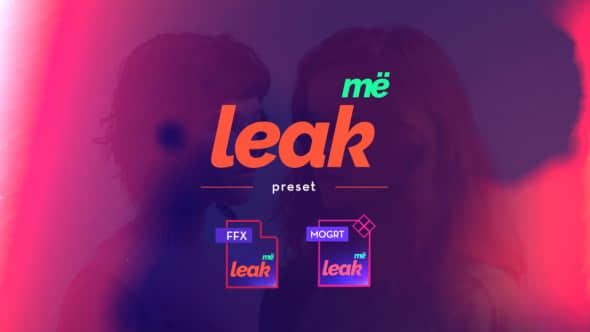 Leak Me Preset