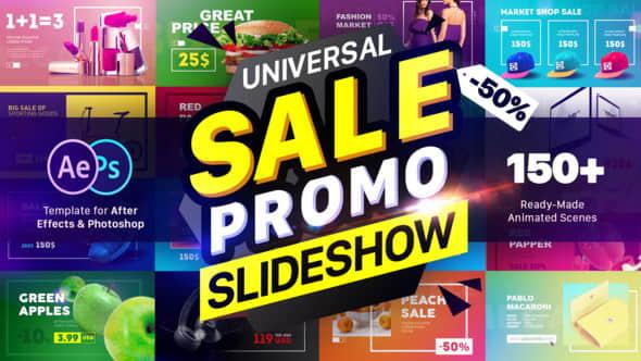 AE模板:150个广告商品时尚宣传包装动画 Sale