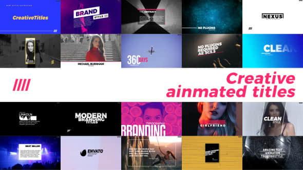 Creative Animated Titles_332
