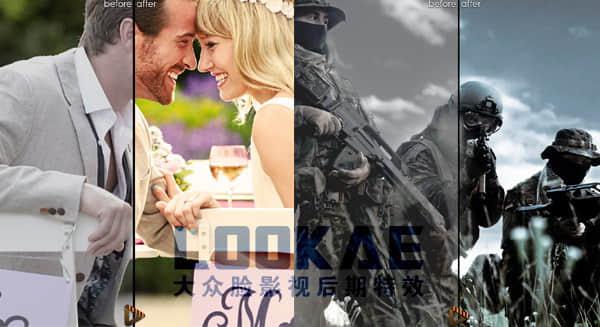 563种电影大片复古建筑风景婚礼LUTs调色预设 CaptuRec MegaBundle Win/Mac