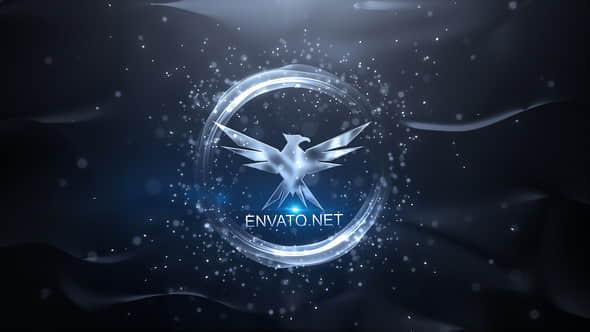 AE模板:优雅粒子LOGO文字标题片头 Elegant Logo