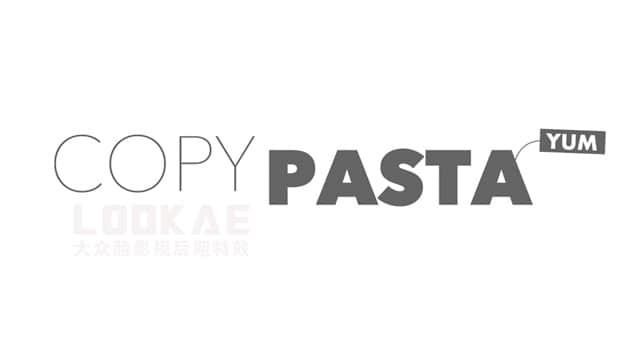 AE脚本:跨软件复制粘贴图形图片 Aescripts Copy Pasta v1.0.1 Win/Mac