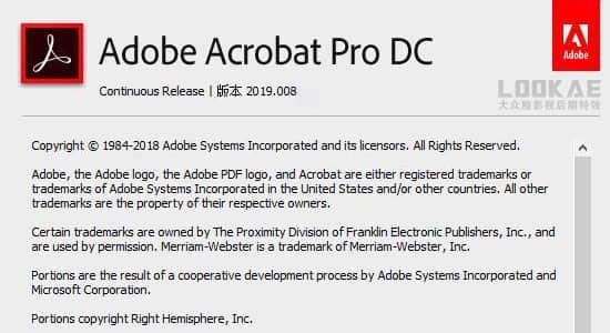 PDF编辑软件Win破解版 Acrobat DC C 2019.008.20074