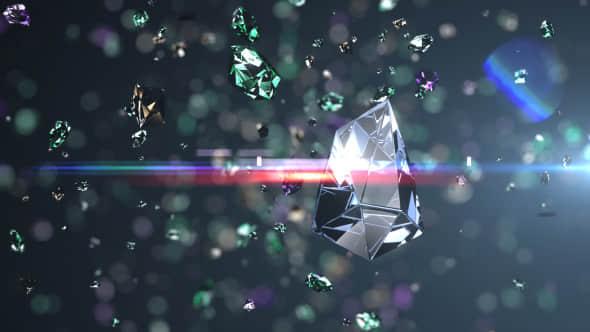 Diamonds Explosion Logo