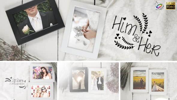 Apple Motion模板:浪漫唯美婚礼电子相册照片展示Wedding Photo Gallery