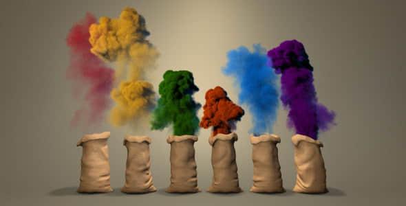 Color Dust Logo