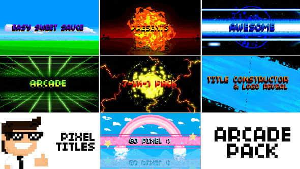 Pixel Titles