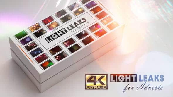 4k Light Leaks for Adverts