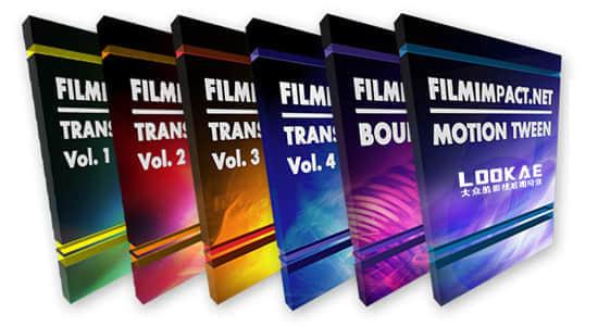 Premiere六套特效转场Pr插件合集 FilmImpact Transition Packs V3.6.15 Win中文汉化版