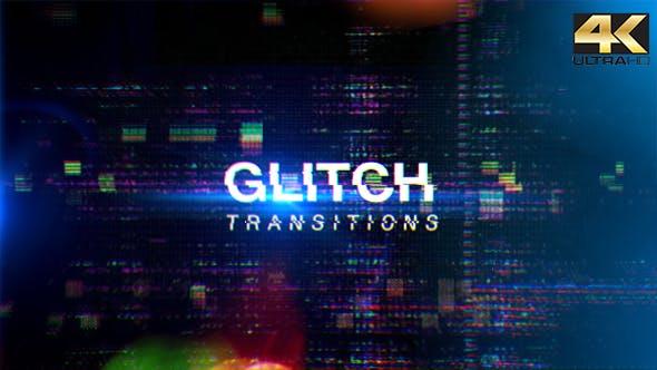 Glitch Transitions 4K