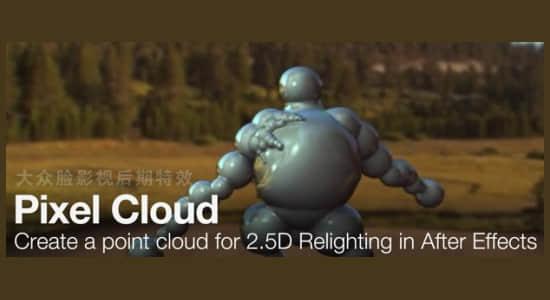 AE插件-三维合成控制处理插件 Pixel Cloud v1.7 Win/Mac大众脸破解+使用教程插图