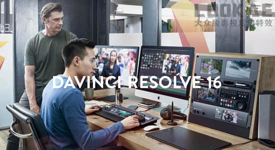 [正版]达芬奇调色软件专业版DaVinci Resolve Studio 16.1.1 Mac/Win中文版插图