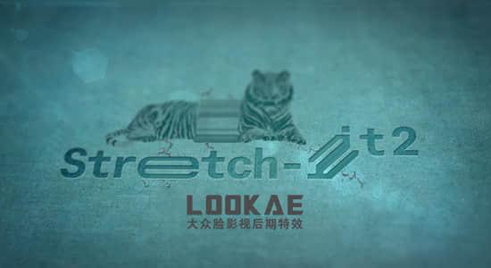 AE脚本-像素拖尾拉伸效果 Stretch-it v2.1插图