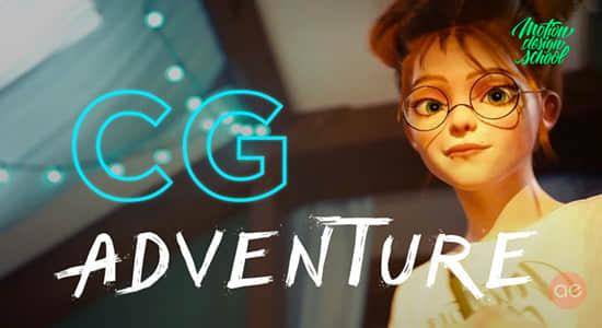 探索CG创作制作流程视频教程 Motion Design School – CG Adventure插图