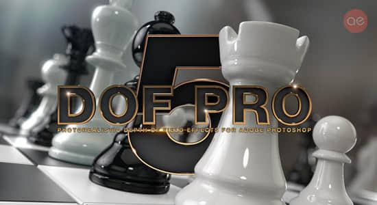 PS插件-图片摄影机景深模糊虚化生成插件 Depth Of Field Generator Pro for Photoshop v4.0.28 Win已注册版插图