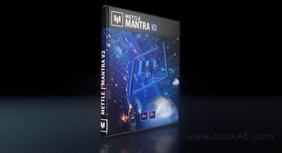 AE/PR插件-虚拟现实VR/AR/XR视觉特效插件 Mettle Mantra v2.0 Win/Mac版插图