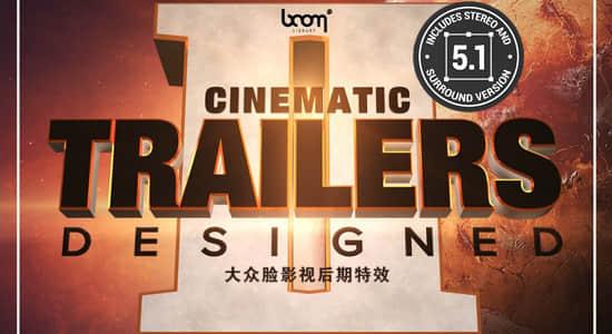 音效-450种大气撞击音调上升破碎移动转场动作电影预告片无损音效 BL – Cinematic Trailers Designed 2插图