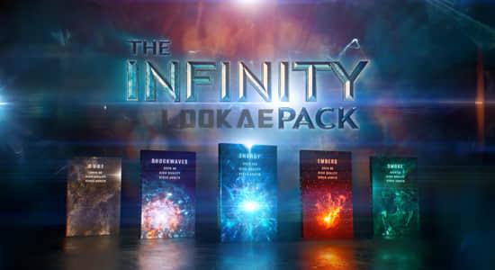 4K视频素材-431个科幻魔法能量冲击波星火粒子粉尘烟雾特效合成动画素材 Infinity VFX