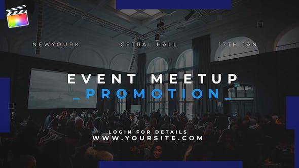 FCPX插件-公司企业商务图文展示介绍开场 Event Promo Meetup插图