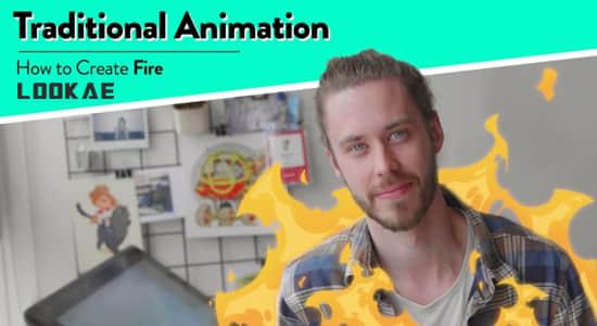 AE教程-制作二维卡通火焰燃烧动画 Skillshare – Traditional Animation How to Create Fire插图