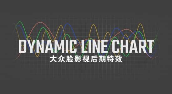 AE插件-用数据生成曲线走势图表动画 Dynamic Line Chart v1.04 Win/Mac + 使用教程