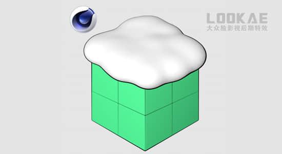 C4D插件-模拟三维空间下雪覆盖场景 Snowgen 1.0插图