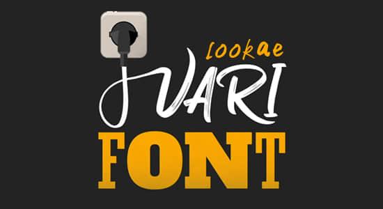 AE插件-字体控制变换工具 VariFont v1.0 Win版