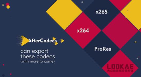 中文汉化AE/PR/AME插件-特殊编码加速输出渲染插件AfterCodecs v1.9.9 Win破解版插图