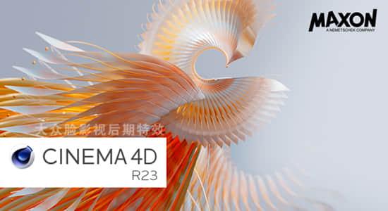 Maxon Cinema 4D R23.110 Win三维软件英文/中文版 C4D R23 + 通用注册机