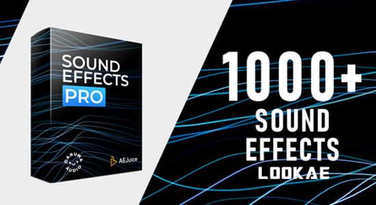 音效-1000个电影冲击波环境生活人物动态氛围音效包 AEJuice – Sound Effects Pro插图