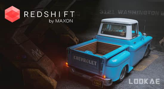 Redshift渲染器硬表面模型渲染C4D教程 Artstation – Hardsurface Rendering in Redshift by Christophe Desse插图