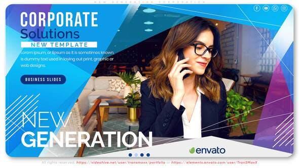 AE模板-现代图形商务公司业务团队企业文化宣传介绍 New Generation Corporation插图