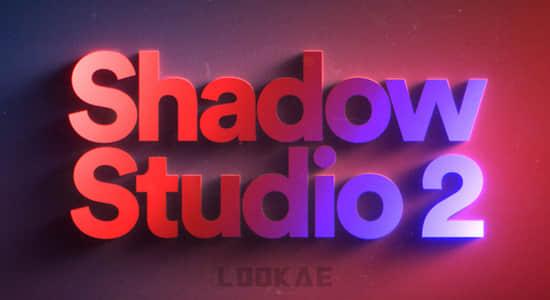 中文汉化AE插件-精致华丽真实阴影拖尾投影插件 Shadow Studio 2 v1.1 Win + 使用教程