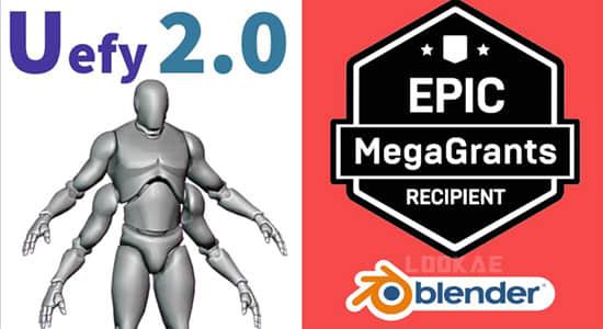 Blender插件-虚幻引擎辅助优化工具 Uefy 2.0 Script插图