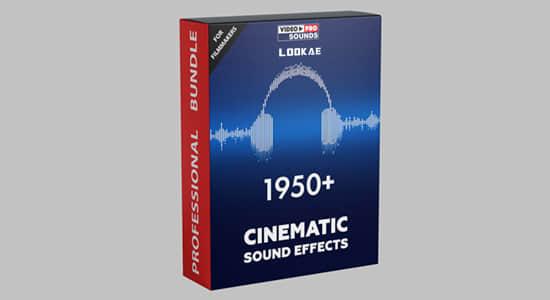 音效-2148个高质量大气上升飞行转场科幻爆炸移动掉落环境氛围渲染音效 1950+ Cinematic Sound Effect