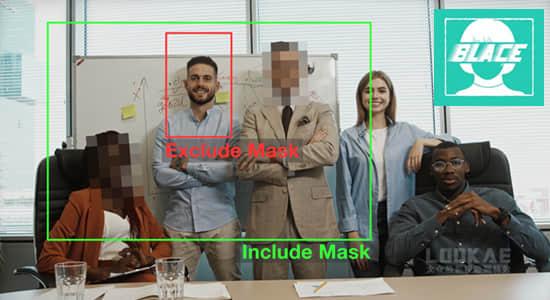 AE插件/PR插件-全球首个人工智能人脸自动识别马赛克模糊跟踪合成特效 Blace – AI Face Detection v1.0.0 Win版