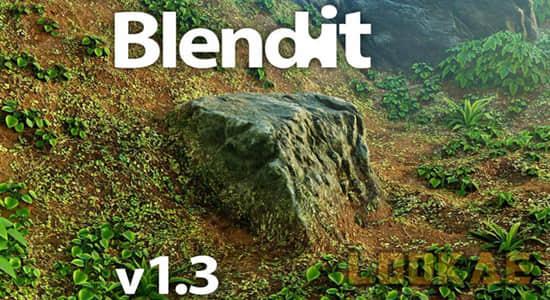 Blender插件-三维模型环境融合附加组件 Blendit v1.3 Add-on插图