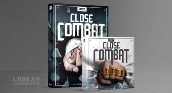 音效-2828个动作电影武打近身搏斗拳打脚踢音效 BL – Close Combat