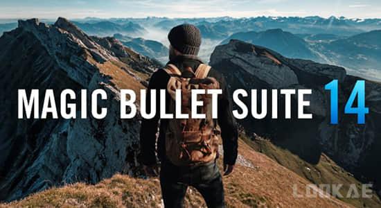 红巨人降噪磨皮美颜调色插件套装 Magic Bullet Suite v14.0.1 Win/Mac 含注册码 Looks/Mojo/Colorista等插图