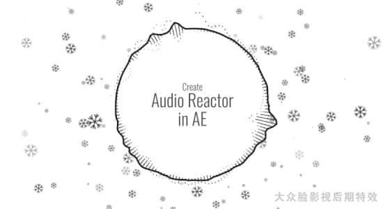 AE教程-音频可视化频谱图形动画制作 Skillshare – Audio Spectrum Visualizer in After Effects(英文字幕)插图