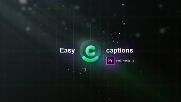 PR脚本-快速标记导入导出添加SRT字幕工具 Easy Captions for Premiere Pro Search Edit SRT Files插图