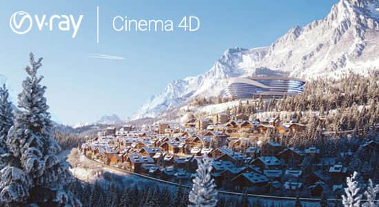 C4D高级渲染器插件 V-Ray Advanced 5.10.20 For Cinema 4D R20-S24 Win