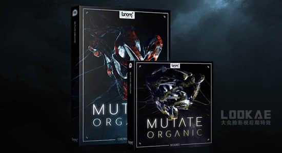音效-4570种未知抽象外星有机生物变异扭曲拉扯生长流动无损音效 Mutate Organic