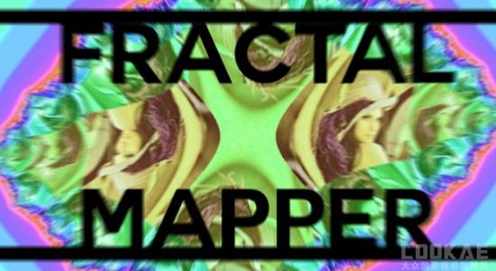 AE插件-图像分形万花筒过渡效果 FractalMapper V1.3 Win/Mac