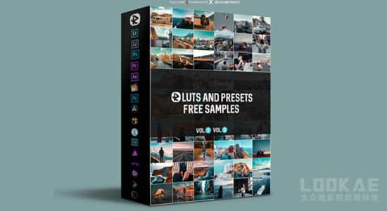 137组电影人像肤色VLOG冒险旅行LUTS调色预设 Riyazmn – LUTs and Presets Master Collection