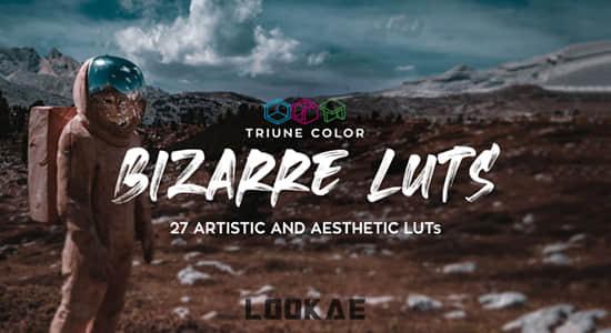 27组艺术美学奇异独特LUTS调色预设 Bizarre LUTs