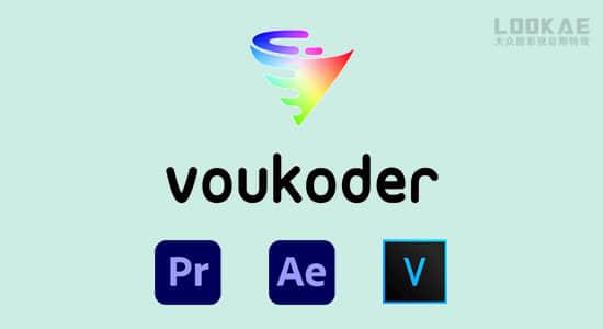 达芬奇/AE/PR/ME/VEGAS多格式视频编码渲染加速输出插件 Voukoder v9.1 Win中文版